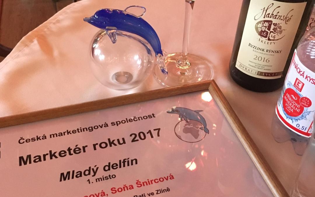 Výhra v Mladom delfínovi – Sme marketérkami roku 2017?